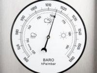 žemo atmosferos slėgio hipertenzija